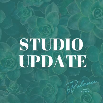 Studio Update